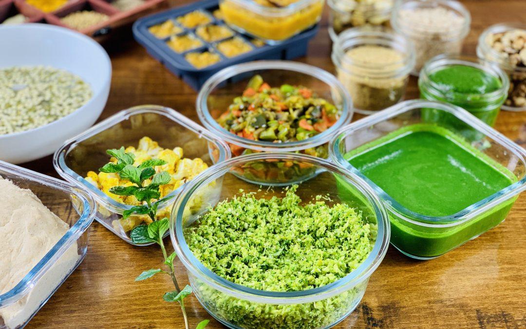 10 Vegetarian Ingredients for Meal-Prep