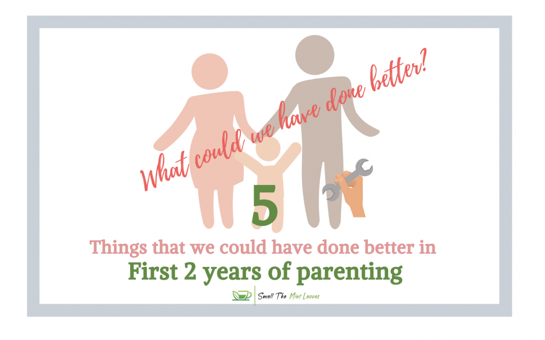 Our 5 Slips in the First Two Years of Parenting