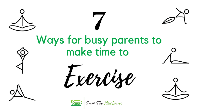 How Busy Parents Can Make Time for Exercise