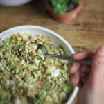 Barley and Brussels Sprouts Salad Image