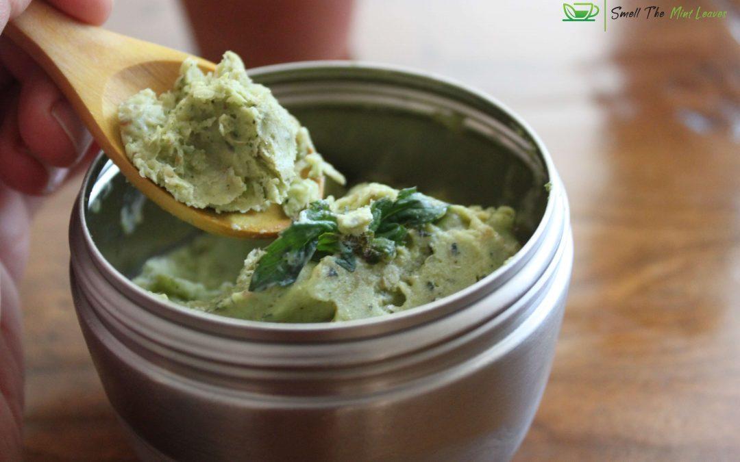 Avocado-Paan Ice cream
