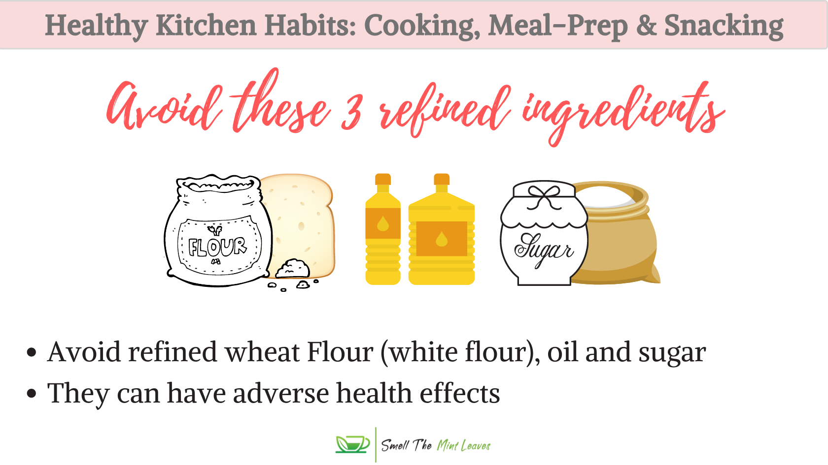 Healthy Kitchen Habits Refined Ingredients Image