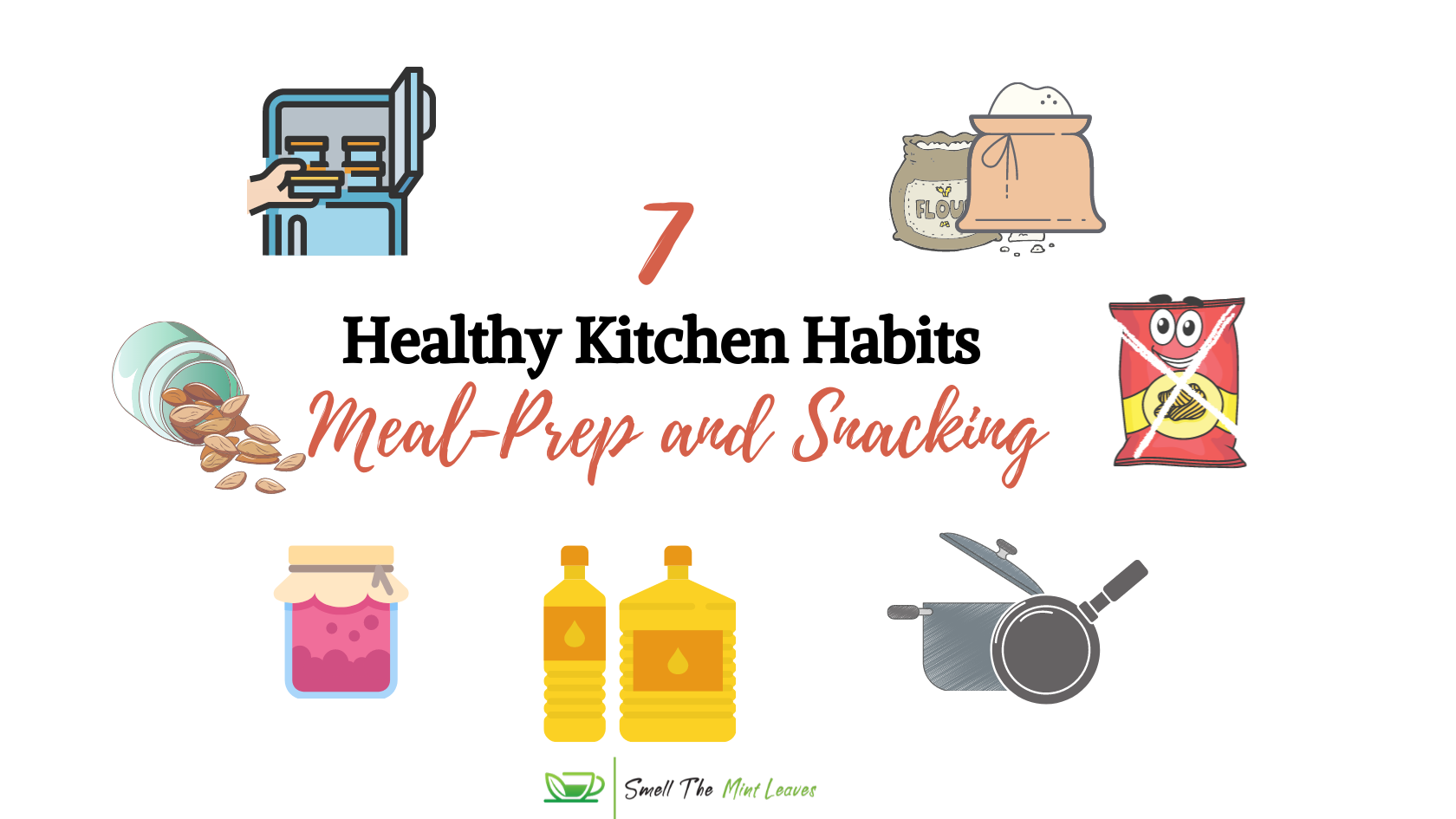 Healthy Kitchen Habits Image