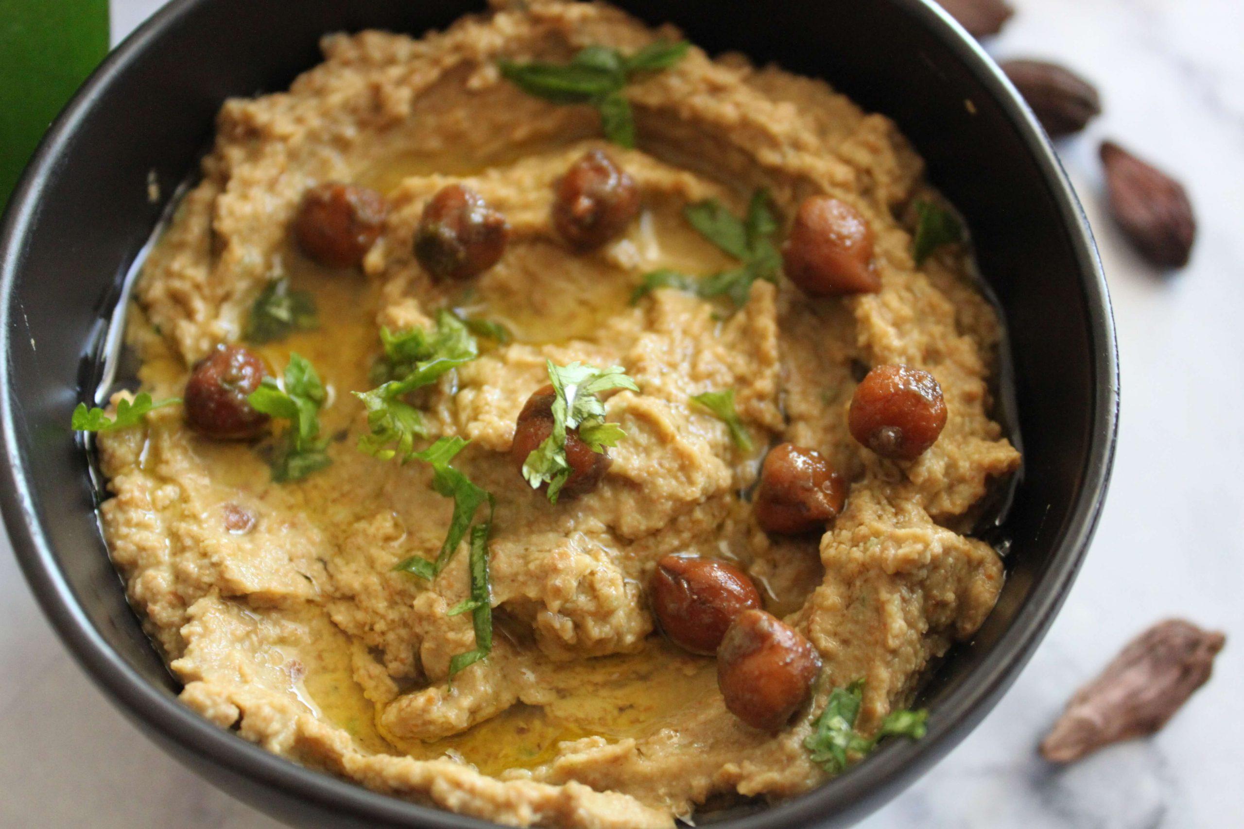 Kala Chana Hummus
