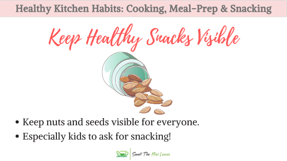 Nuts Seeds Healthy Kitchen Habits