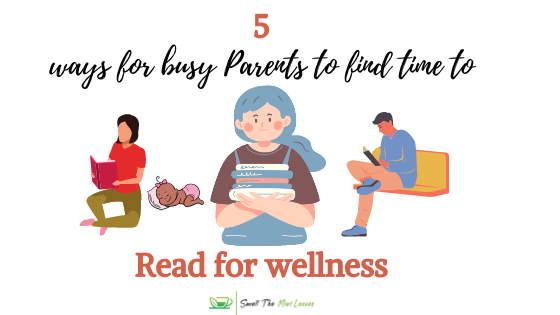 How do busy parents find time to read?