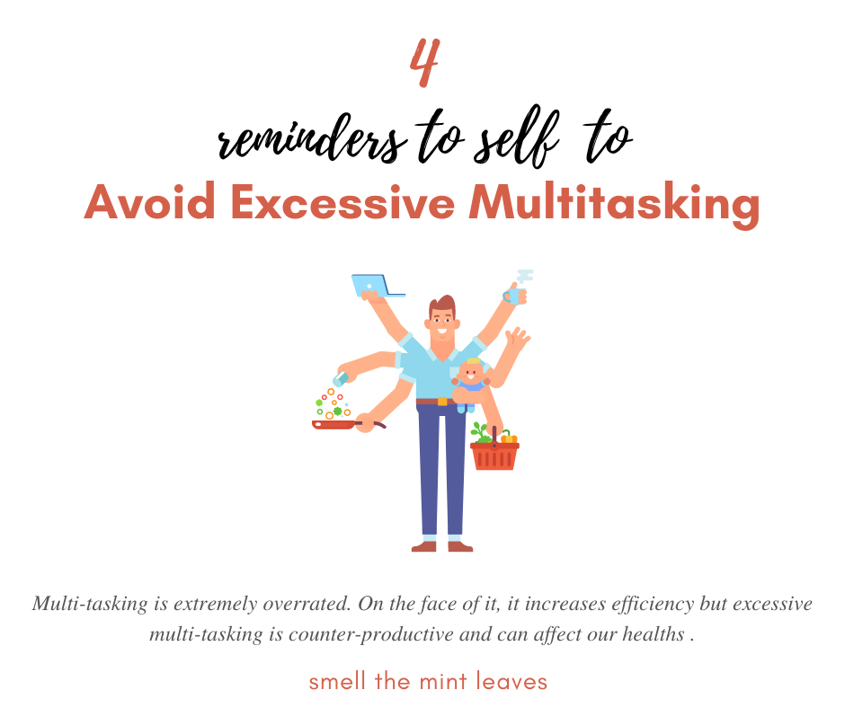 Avoid Excessive Multitasking